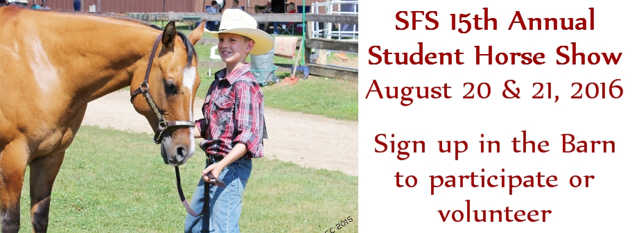 2016 SFS 15th Annual Student Horse Show
