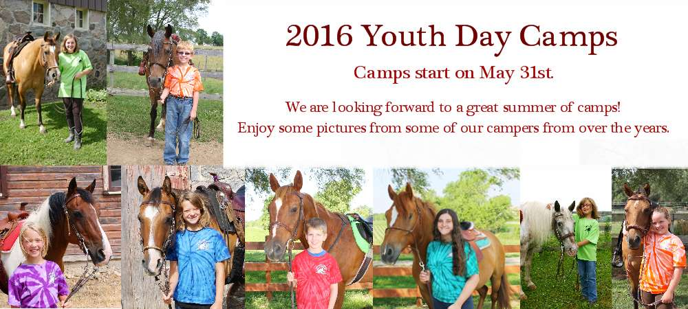 Youth Day Camps almost here!