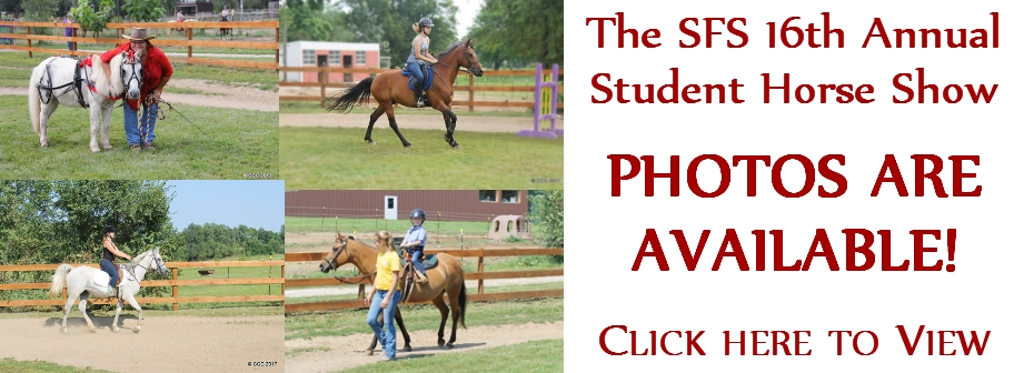 2017 SFS Student Horse Photos are Available!