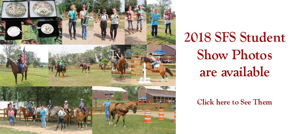 2018 SFS Student Show Photos are up!