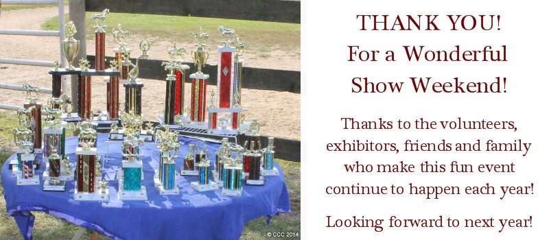 2014 SFS Student Show Thank You